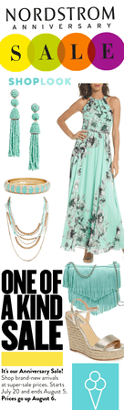 # Nordstrom sale  contest # shoplook # Aqua