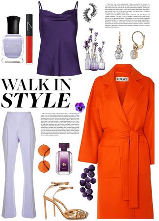 Purple & Orange #2