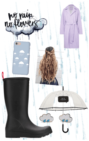 Rainboots outfit