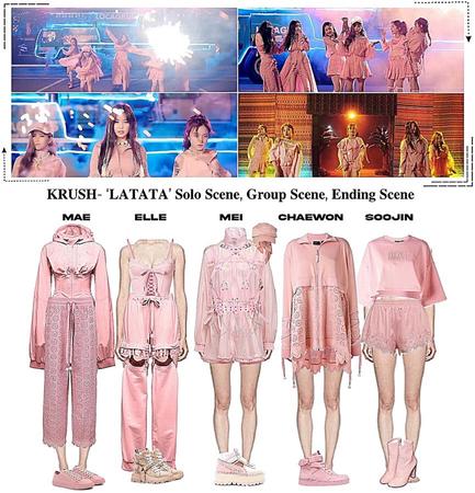 KRUSH Latata M/V Scene 3: Group Scene, Solo Scene, Ending Scene
