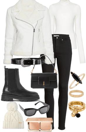 White Aviator Jacket