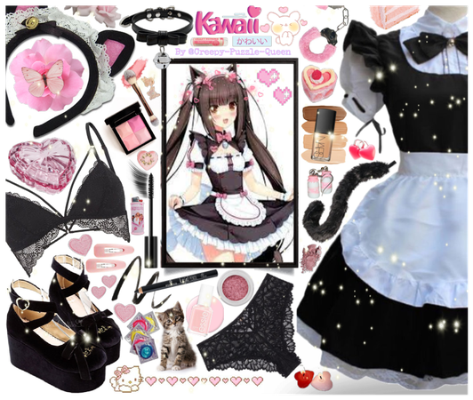 #Kitty-Maid #Kawaii