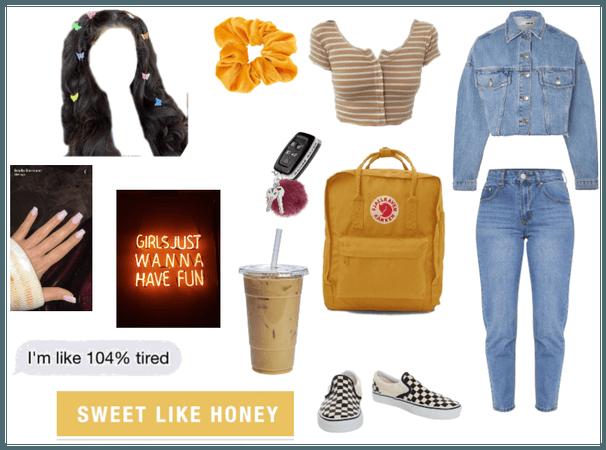 90s Vsco Honey Mood