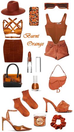 Summer Oranges Challenge Burnt Orange