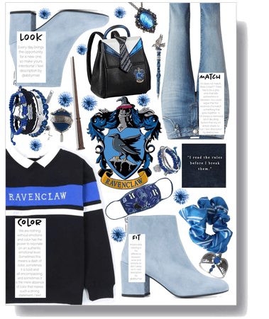 Look, Match, Color, Fit Ravenclaw