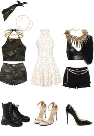 Beyoncé Outfits (Survivor, 2014 Grammy Award, and Run the World)