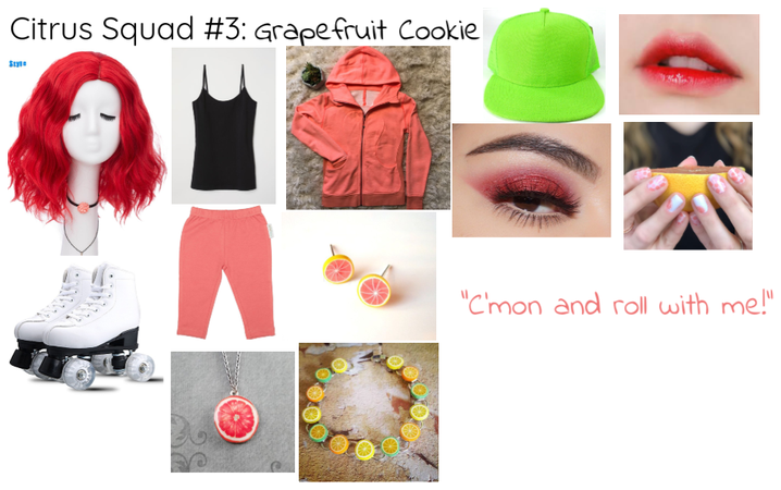 Citrus Squad #3: Grapefruit Cookie
