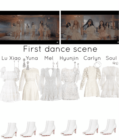 Secret MV- first dance scene