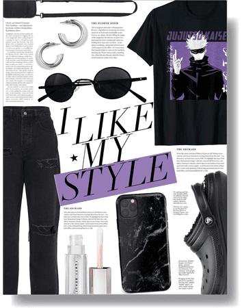 my style, my vibe 💜