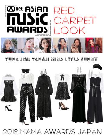 {MARIONETTE} MAMA Awards 2018 Japan Red Carpet