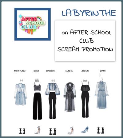 LABYRINTHE scream promotion