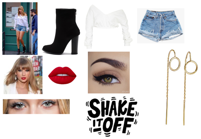 Taylor swift streetwear inspired outfit
