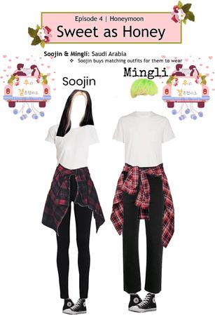 Shadow (Mingli) & Crushes (Soojin) WGM Ep. 4