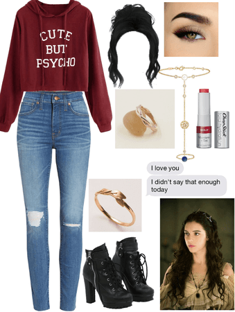 Adalina Petrov/Mikaelson inspired modern outfit