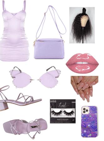 Purple baddie💜