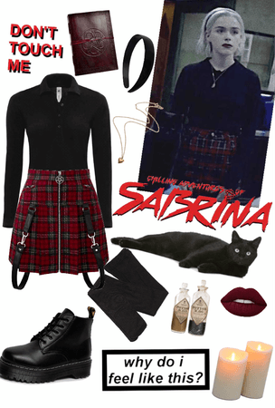 Sabrina, (Outfit #3. Christmas Episode)