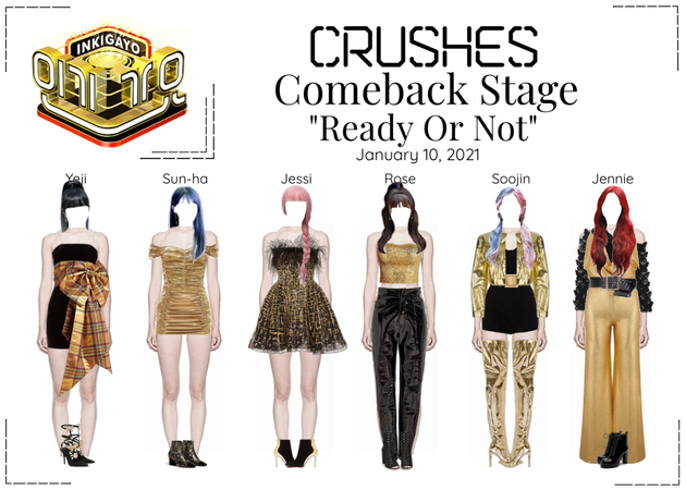 Crushes (호감) ❝ℝ𝕖𝕒𝕕𝕪 𝕆𝕣 ℕ𝕠𝕥❞ Comeback Stage
