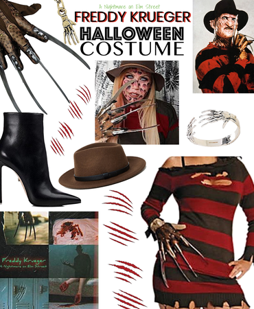 Freddy Kruger costume idea