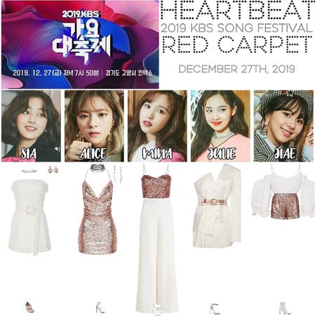 [HEARTBEAT] 2019 KBS SONG FESTIVAL | RED CARPET