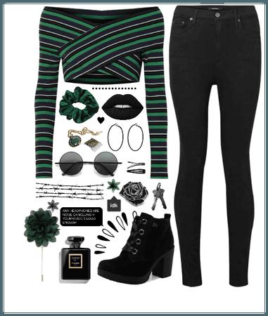 Dark +green