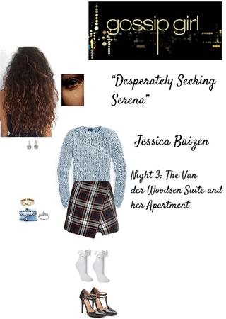 "Gossip Girl: ""Desperately Seeking Serena"" - Jessica Baizen - Day/Night 3: The Van der Woodsen Suite and her Apartment"