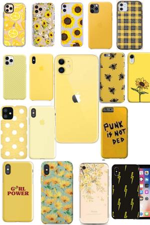 yellow phone cases