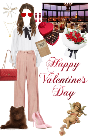 Valentine's Day time outfit