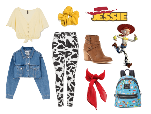 Jessie (Toy Story) - Disneybound