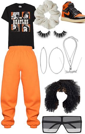 orange baddie