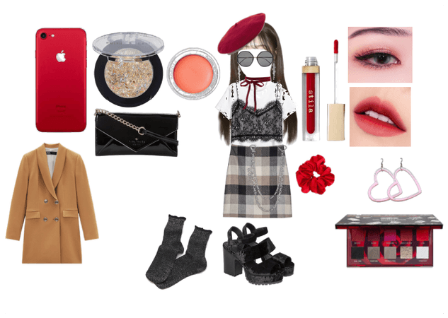 glam kpop red
