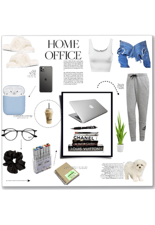 home office stay calm