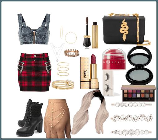 chola outfit(hispanic should like it)