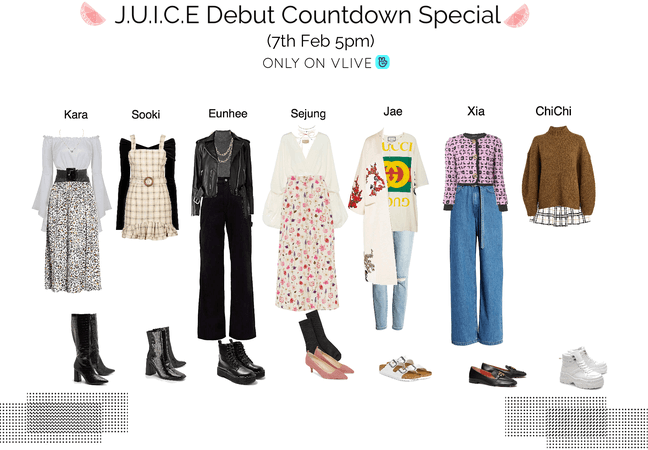 J.U.I.C.E DEBUT COUNTDOWN SPECIAL ON THE VLIVE APP (5pm KST) (7th Feb)
