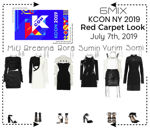 《6mix》KCON New York 2019 | Red Carpet