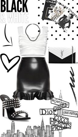 Summer Black & White