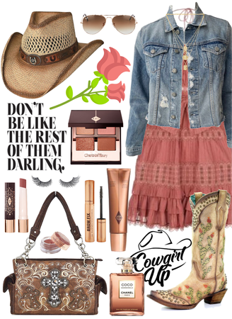 •Feminine Country Chic•