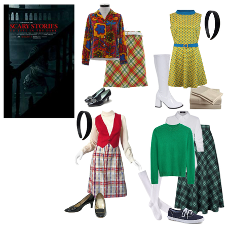 My Outfits for Scary Stories to Tell in the Dark