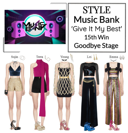 STYLE Music Bank 'Give It My Best' Goodbye Stage