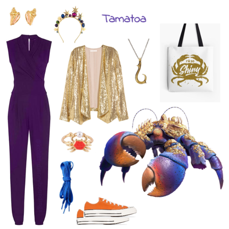 Tamatoa outfit - Disneybounding