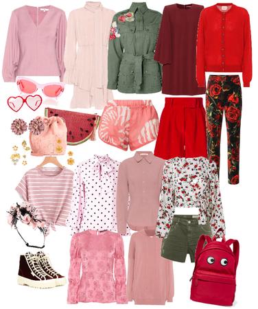 Valentine wardrobe 1