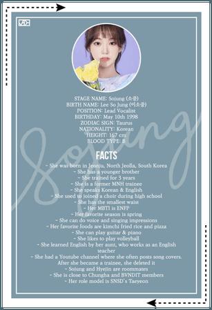 JADE (제이드) SOJUNG Profile