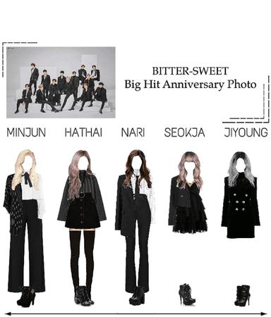 BITTER-SWEET [비터스윗] Big Hit 15th Anniversary Photo