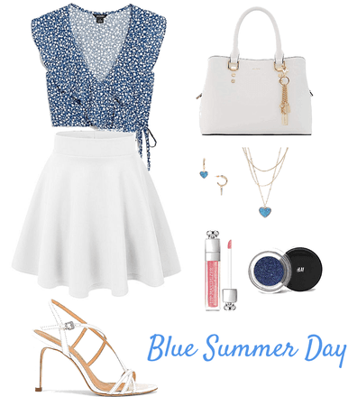 Blue Summer Day