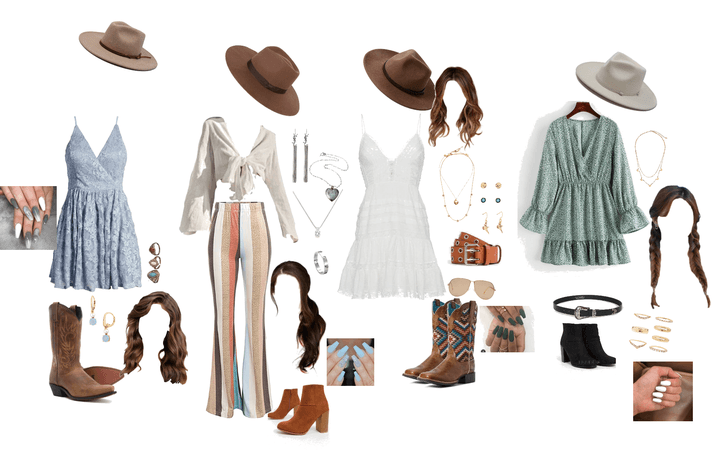 mix and match these rodeo looks