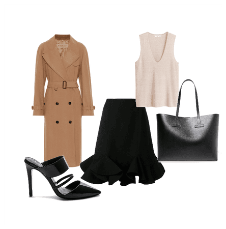 Classic Office Inverted Triangle Shape