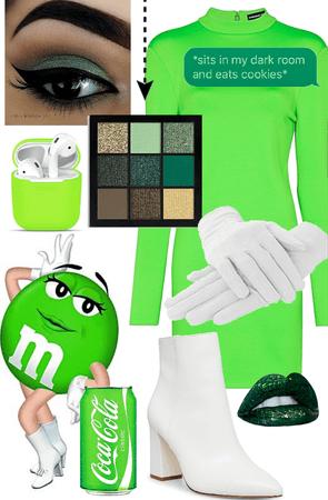 Green M&M's 💚