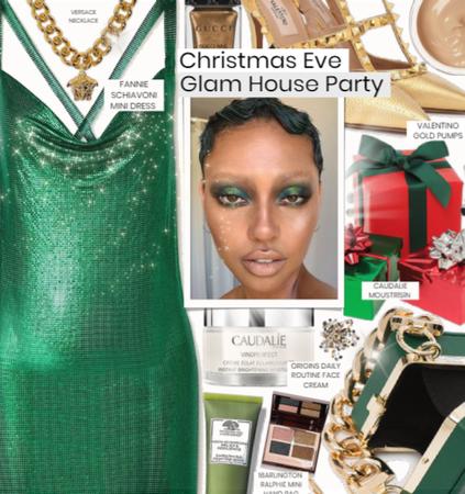 Glam Christmas Eve