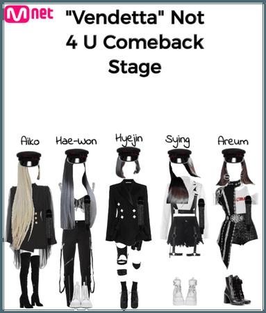 Vendetta Comeback Stage