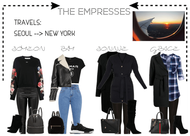 [THE EMPRESSES] TRAVELS: SEOUL TO NEW YORK