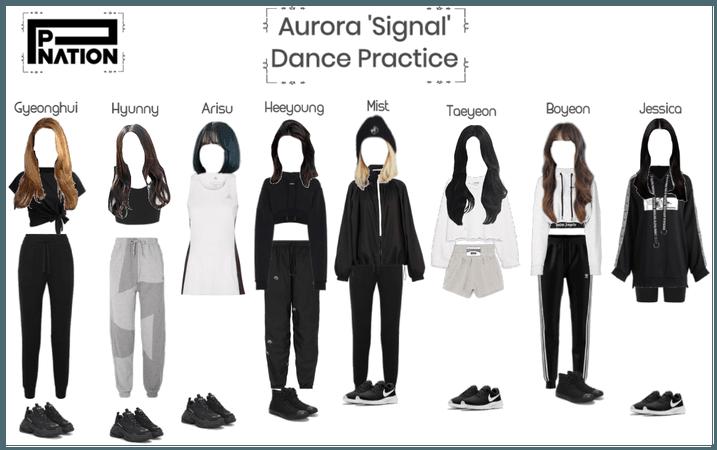 Aurora 'Signal' Dance practice